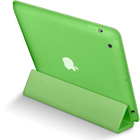 The Green Smart Case from the back.