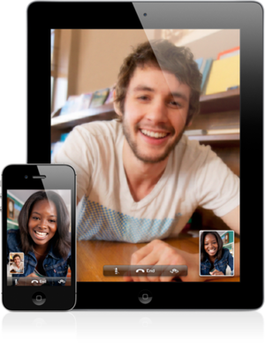 FaceTime iPad and iPhone