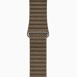 Light Brown Leather Loop Band