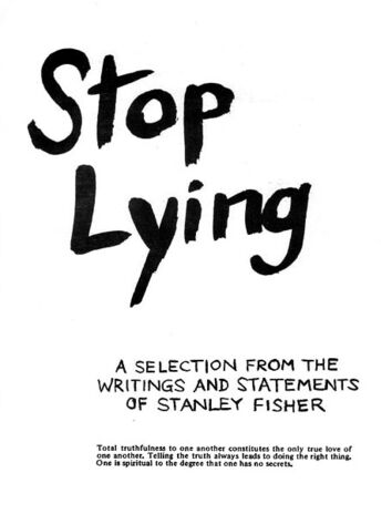 Cover stop-lying