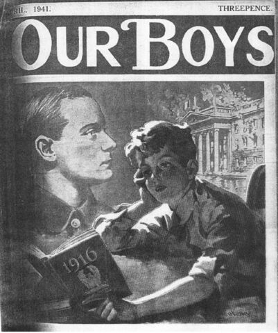 File:Our Boys cover April 1941 O'Leary.jpg