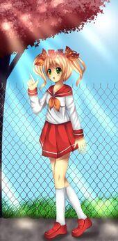 Momo milky tea chan sailor fuku