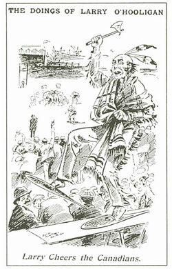 Larry o'hooligan 1902