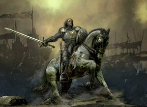 Knight-on-battle-horse