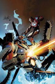 Invincible Iron Man Vol 1 32 Textless