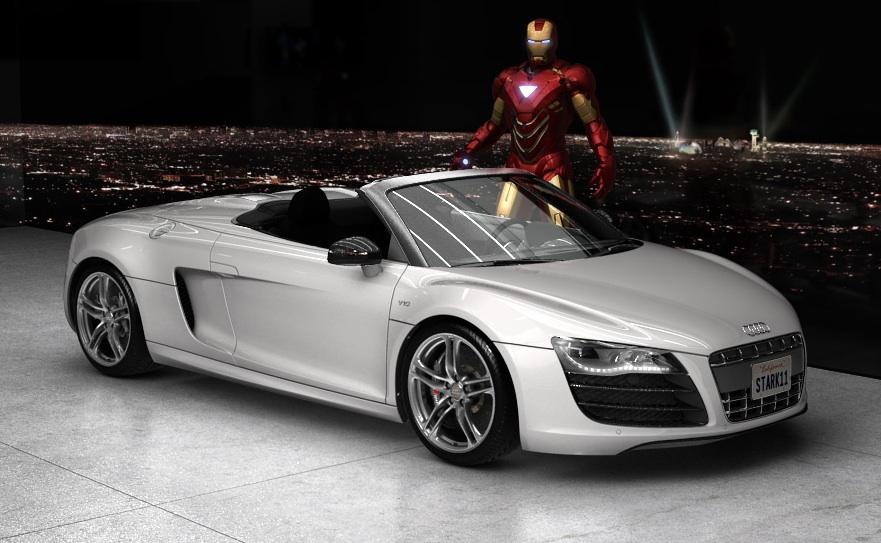 Audi R8 Spyder  Iron Man Wiki  Fandom powered by Wikia
