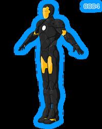 Iron Man Armored Adventures Space-armor