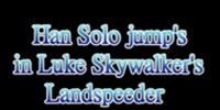 LEGO Han Solo jump (test film)