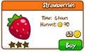 Strawberries shop