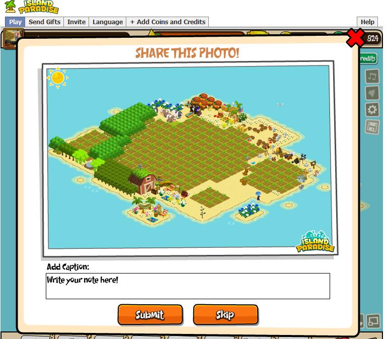 Snapshot entire island