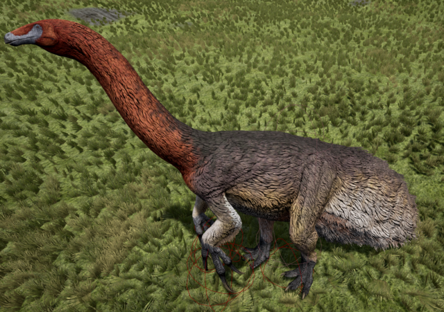 File:Blue-Faced Therizinosaurus The Isle.png