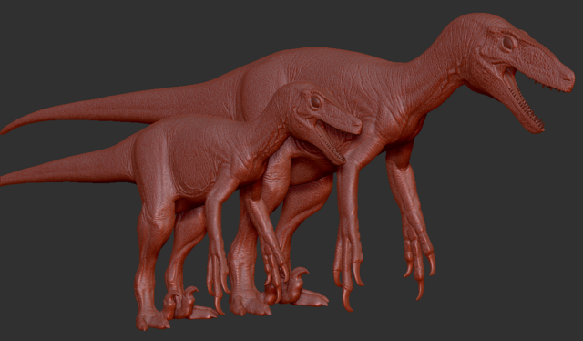 File:Juvenile Utahraptor Model The Isle.png