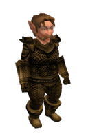 Brown Mithril Chainmail Armor