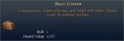 Brass Coffer