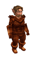 Light Copper Mithril Chainmail Armor