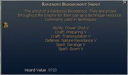Ravenous Bloodsnout Snout