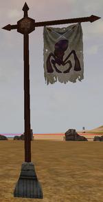 Slayer of the Myloc Queen banner