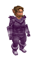 Light Purple Mithril Chainmail Armor
