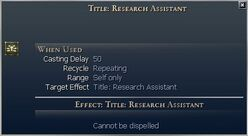 Title Research Assistant