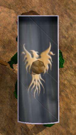 Ceremonial Tower Shield of the Phoenix