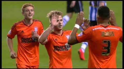 Wigan 1-2 Ipswich (2014-15 season)
