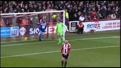 Brentford 2-4 Ipswich (2014-15 season)