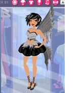 Tabita's Dark Fairy Costume