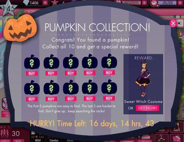 Halloween Pumpkin Collection 2012