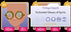 Enchanted Glasses It Girl Facebook game