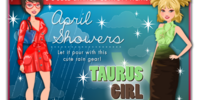 April Showers and Taurus Girl - April 23