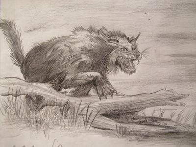 Vampire beast by teratophoneus-d3cadxw
