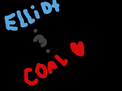 Elliot and coal sign