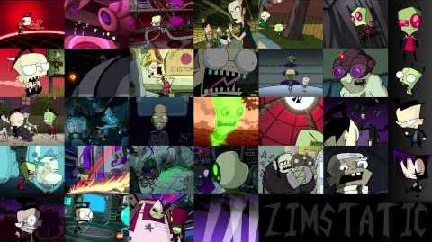 Every Invader Zim Episode At Once, ZIMSTATIC!