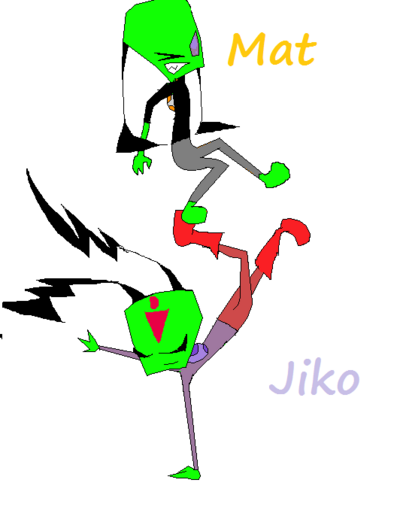 Mat and Jiko