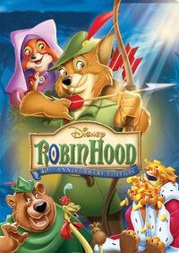 Robin Hood 45th Anniversary DVD poster