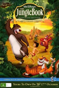 The Jungle Book Platinum Edition poster