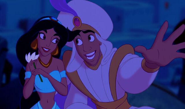 File:A Whole New World Aladdin and Jasmine.jpg