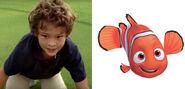 Hayden Rolences voices Nemo
