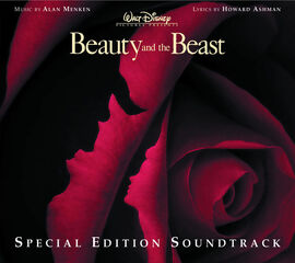 Beauty and the Beast Special Edition soundtrack cover