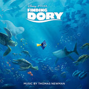 Finding Dory Soundtrack cover
