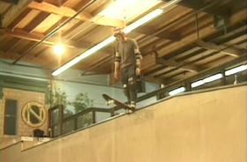 Skateboard drop in