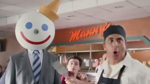 Angry Manny's Owner - Funny Jack in the Box TV Commercial