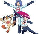 Jessie, James and Meowth