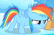 Rainbow Dash as a Filly
