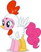 Pinkie pie chicken by bilibix-d4j3xsm