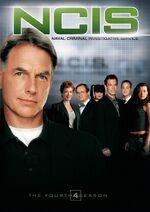 NCIS Season 4 DVD cover