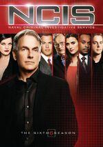 NCIS Season 6 DVD cover