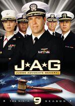 JAG Season 9 DVD cover