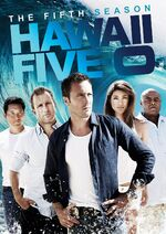 Hawaii Five-0 Season 5 DVD cover