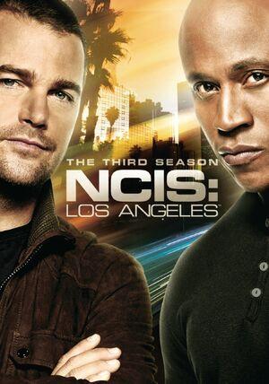 NCIS Los Angeles Season 3 DVD cover